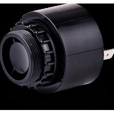 ESZ звуковой сигнализатор с креплением на панели Черный Плоский разъем, 24 V AC/DC