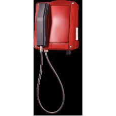 wST аналоговый телефон, всепогодный Красный Без клавиатуры