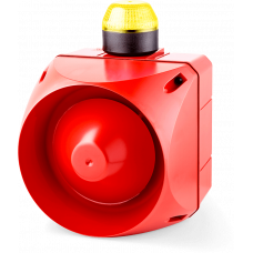 ACL многотональная сирена со встроенным светодиодным индикатором Желтый 110-120 V AC