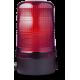 MLS маячок постоянного света Красный 230-240 V AC, горизонтальный