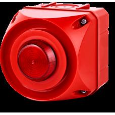 ADS-P многотональная сирена со встроенным светодиодным индикатором Красный 24 V AC/DC