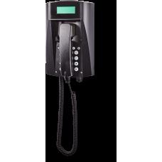 wFT3 аналоговый телефон, всепогодный Черный Спиральный шнур, С клавиатурой, С дисплеем