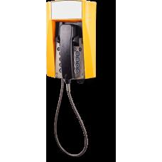 dFT3 взрывозащищенный аналоговый телефон Желтый Армированный шнур, Без дисплея