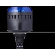 ELG сирена с креплением на панели с контрольным светодиодом Синий черный, 12 V AC/DC