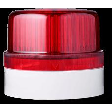 BLG светодиодный проблесковый маячок Красный серый, 24 V AC/DC