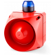 ACL многотональная сирена со встроенным светодиодным индикатором Синий 230-240 V AC