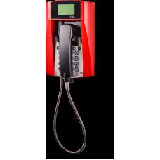 dFT3-IP взрывозащищенный VoIP телефон Красный Армированный шнур