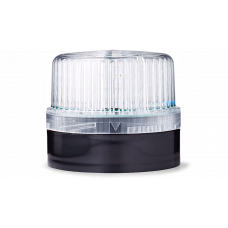 DLG светодиодный маячок постоянного света Белый 24 V AC/DC, черный