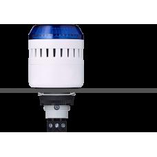 ELM сирена с креплением на панели с контрольным светодиодом Синий 24 V AC/DC, серый