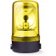 MRS проблесковый маячок с вращающимся зеркалом Желтый 110-120 V AC, Горизонтальный