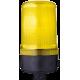 MLL маячок постоянного света Желтый 230-240 V AC, Трубка D 25 мм