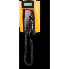 wFT3 аналоговый телефон, всепогодный Желтый Спиральный шнур, С клавиатурой, С дисплеем
