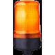 MLS маячок постоянного света Оранжевый 24 V AC/DC, Трубка D 25 мм
