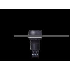 ESV звуковой сигнализатор с креплением на панели Черный 110-120 V AC