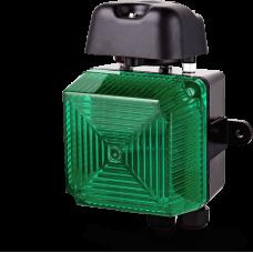 Аудиовизуальный сигнальный оповещатель для звонка VS1 Зеленый