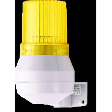 KDF мини-гудок - стробоскопический маячок Желтый 230-240 V AC