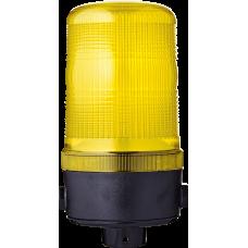 MLS маячок постоянного света Желтый 24 V AC/DC, Трубка D 25 мм