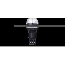IBS светодиодный маячок с постоянным/мигающим светом и креплением на панели M22 Белый черный, 230-240 V AC