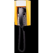 dFT3 взрывозащищенный аналоговый телефон Желтый Спиральный шнур, Без дисплея