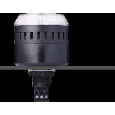 EDG сирена с креплением на панели с контрольным светодиодом Белый черный, 12 V AC/DC