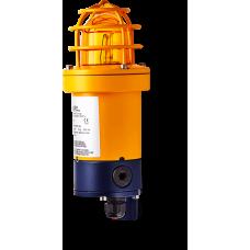 dSF взрывозащищенный ксеноновый стробоскопический маячок Оранжевый 5 Дж, 24 V DC