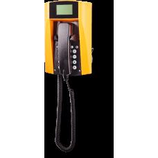 wFT3-IP VoIP телефон, всепогодный Желтый Спиральный шнур