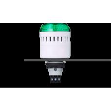 ELM сирена с креплением на панели с контрольным светодиодом Зеленый 12 V AC/DC, серый