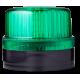FLG ксеноновый стробоскопический маячок Зеленый 110-120 V AC, черный