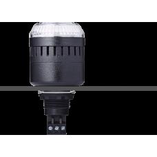 ELM сирена с креплением на панели с контрольным светодиодом Белый черный, 12 V AC/DC