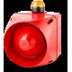 ACX многотональная сирена со встроенным светодиодным индикатором Оранжевый 230-240 V AC