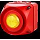 ADS-P многотональная сирена со встроенным светодиодным индикатором Желтый 110-120 V AC