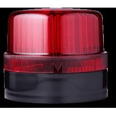 BLG светодиодный проблесковый маячок Красный черный, 24 V AC/DC