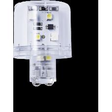LLL Светодиодный маячок постоянного света 110 V AC, прозрачный