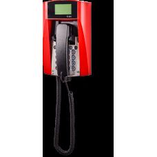 dFT3-IP взрывозащищенный VoIP телефон Красный Спиральный шнур