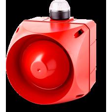 ADX многотональная сирена со встроенным светодиодным индикатором Белый 110-120 V AC