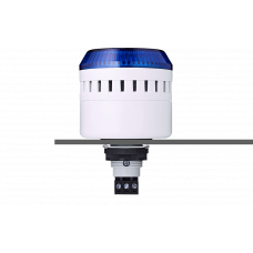 ELG сирена с креплением на панели с контрольным светодиодом Синий серый, 230-240 V AC