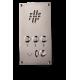 IC аналоговый телефон для внутренней связи, всепогодный 3 клавиши без корпуса