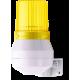 KDF мини-гудок - стробоскопический маячок Желтый 24 V DC