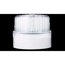 DLG светодиодный маячок постоянного света Белый серый, 24 V AC/DC