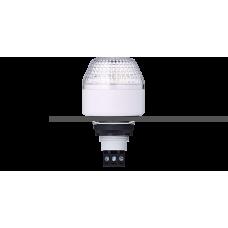 IBM светодиодный маячок с постоянным/мигающим светом и креплением на панели M22 Белый серый, 24 V AC/DC