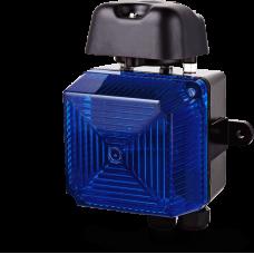 Аудиовизуальный сигнальный оповещатель для звонка VS1 Синий