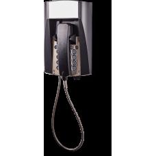 dFT3 взрывозащищенный аналоговый телефон Черный Армированный шнур, Без дисплея