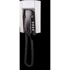 wFT3 аналоговый телефон, всепогодный Серый Спиральный шнур, С клавиатурой, Без дисплея