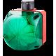 QCL светодиодный стробоскопический маячок со встроенным звуковым сигнализатором Зеленый 110-120 V AC