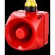 ADM многотональная сирена со встроенным светодиодным индикатором Желтый 110-120 V AC