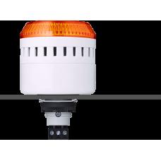 EDG сирена с креплением на панели с контрольным светодиодом Оранжевый 110-120 V AC, серый