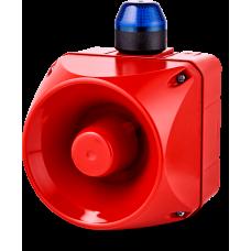 ADM многотональная сирена со встроенным светодиодным индикатором Синий 230-240 V AC