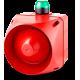 ACX многотональная сирена со встроенным светодиодным индикатором Зеленый 110-120 V AC