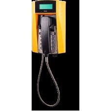 dFT3 взрывозащищенный аналоговый телефон Желтый Армированный шнур, С дисплеем