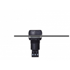 ESV звуковой сигнализатор с креплением на панели Черный 110-120 V DC